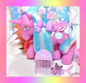 My-Little-Pony-MLP-G1-Vtg-Twice-as-Fancy-Sunshine-BEACH-BALL-amp-Original-Comb