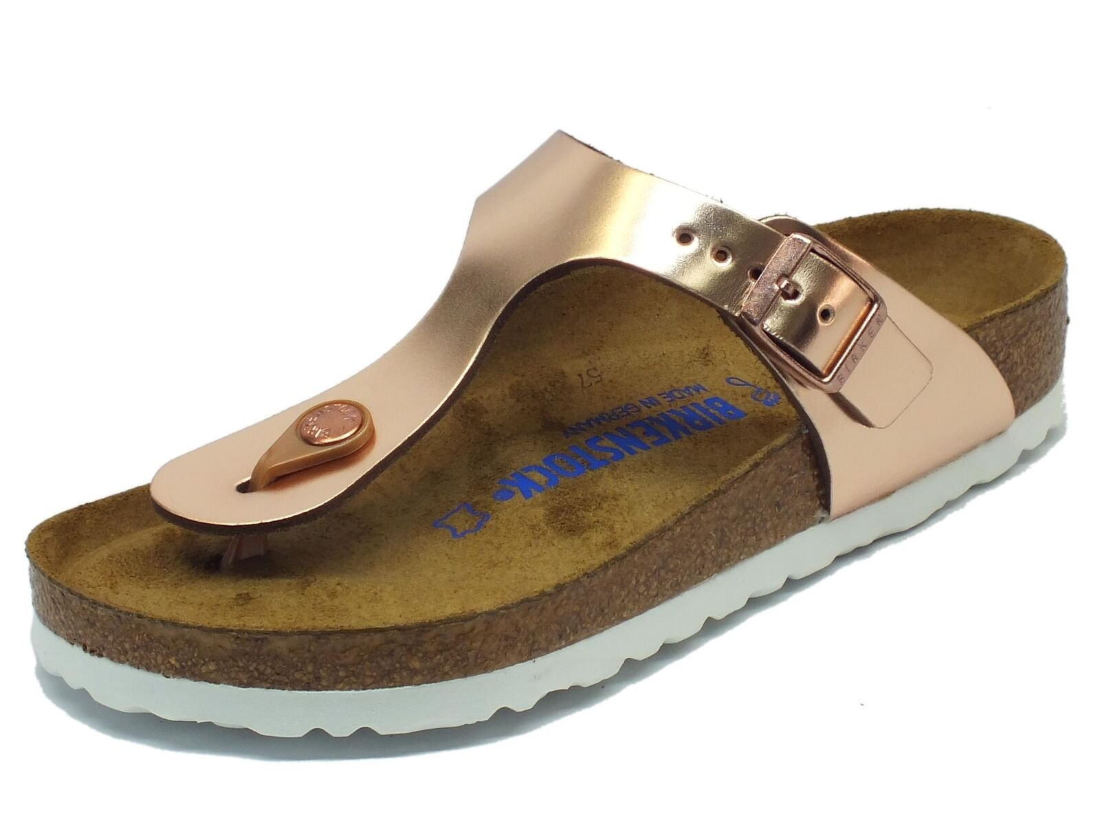 Infradito Birkenstock per donna Gizeh copper BS colore rame metallic copper Gizeh f1ec4a