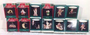 Hallmark-Keepsake-Minature-Christmas-Ornaments-Lot-Of-13
