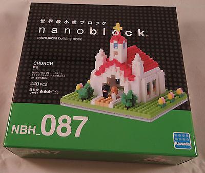 Kawada Nanoblock CHURCH building toy block NBH/_087 Japan micro sized 440pcs