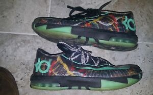 16272f161d85 Nike KD VI 6 All Star Gumbo League Illusion 599477-900 Green Glow ...
