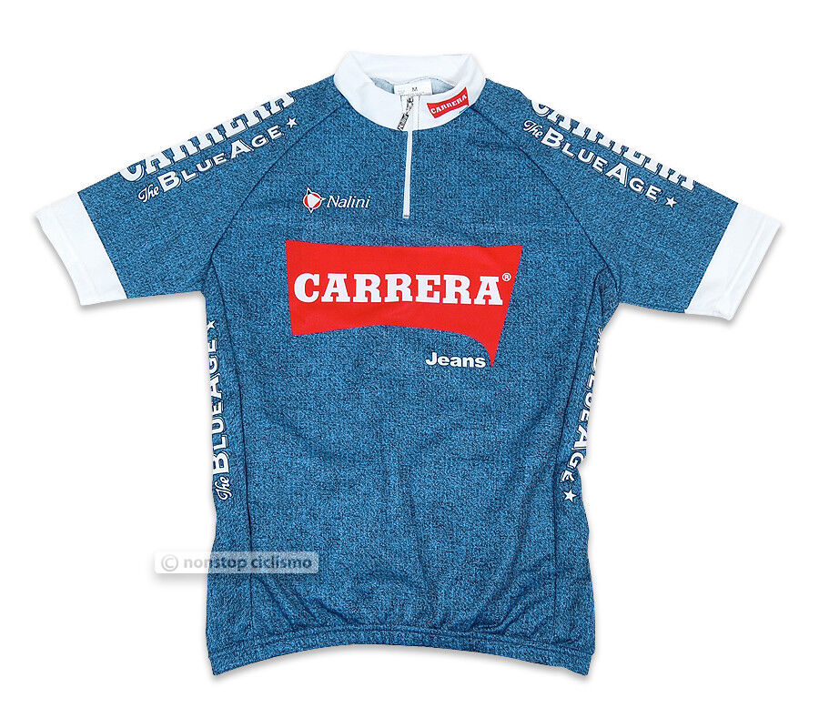 NEW CARRERA blueE JEANS Short Sleeve Cycling Jersey by NALINI