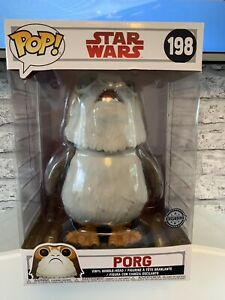 Funko-Pop-Star-Wars-198-Porg-Exclusivo-Figura-de-Vinilo-Bobble-head-10-034