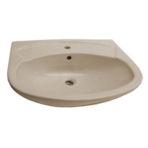 Saval Waschbecken Waschtisch 60 x 46 beige bahamasbeige optional Lotuseffekt