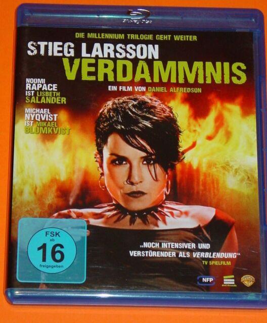 Blu-ray DVD - STIEG LARSSON - VERDAMMNIS ( MILLENIUM TRIOLOGIE TEIL 2 ) FSK 16