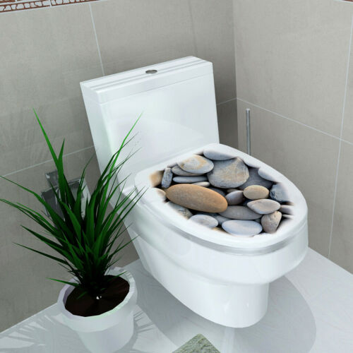 NEUE DIY 3D WC Sitze Wandaufkleber Bad Aufkleber Vinyl Wandhauptdekoration