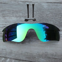 Green Polarized Lenses For-oakley Radar Path With Black Nose Pad & Rubber Piece