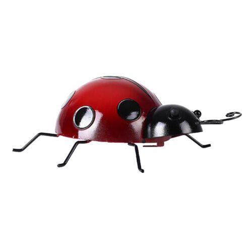 4Pcs Red Mini Metall Marienkäfer Kinderspielzeug DIY Marienkäfer   Beste
