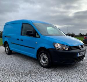VW Caddy van 1.6 tdi Maxi 2015 45000 miles NO VAT Volkswagen ex British Gas