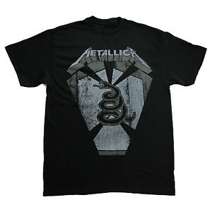 Details about Metallica Snake Pit 2012 European Tour Tshirt XL T-shirt