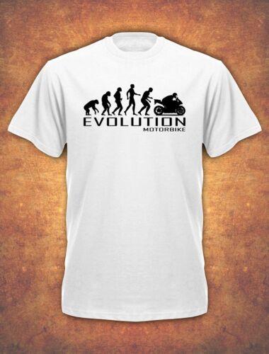 Evolution Of Motorbike Motorcycle Rider Bike Biker Christmas T-shirt kids