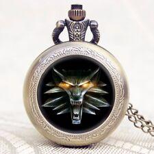 Steampunk Game of Thrones Hear Me Roar Lion Head Quartz Pocket Watch Men Women