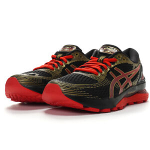 8df0cd848bbd ASICS Gel-Nimbus 21 Women Running Shoes Sneakers BLACK/CLASSIC RED ...
