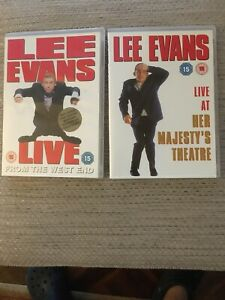 LEE-EVANS-2-DVD-s-LIVE-FROM-THE-WESTEND-AND-LIVE-FROM-HER-MAJESTY-s-THEATRE
