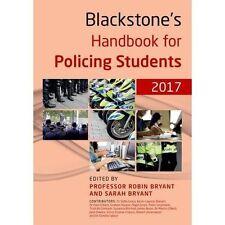 Blackstone's Handbook for Policing Students - 2017 Ed Bestselling Paperback Book