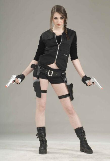 Treasure Huntress Holster Gun Set Lara Croft Tomb Raider Costume Accessory Ebay