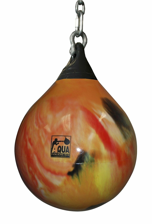 Aqua Training Bag - 15 Inch, 75 Pound Boxing Bag  orange FITNESS TRAINING NEW
