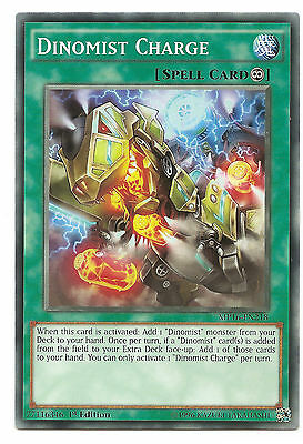Dinomist Charge MP16-EN218 Common Yu-Gi-Oh Card 1st Edition English New