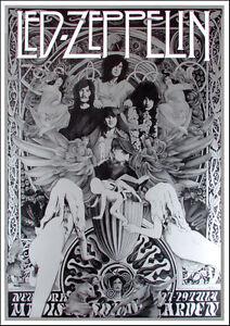 led zeppelin ultimate fan poster song remains the same tribute steve harradine ebay. Black Bedroom Furniture Sets. Home Design Ideas