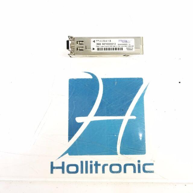 Stratos Lightwave SPLC-20-F-1-D Optical Transceiver Lot of 2
