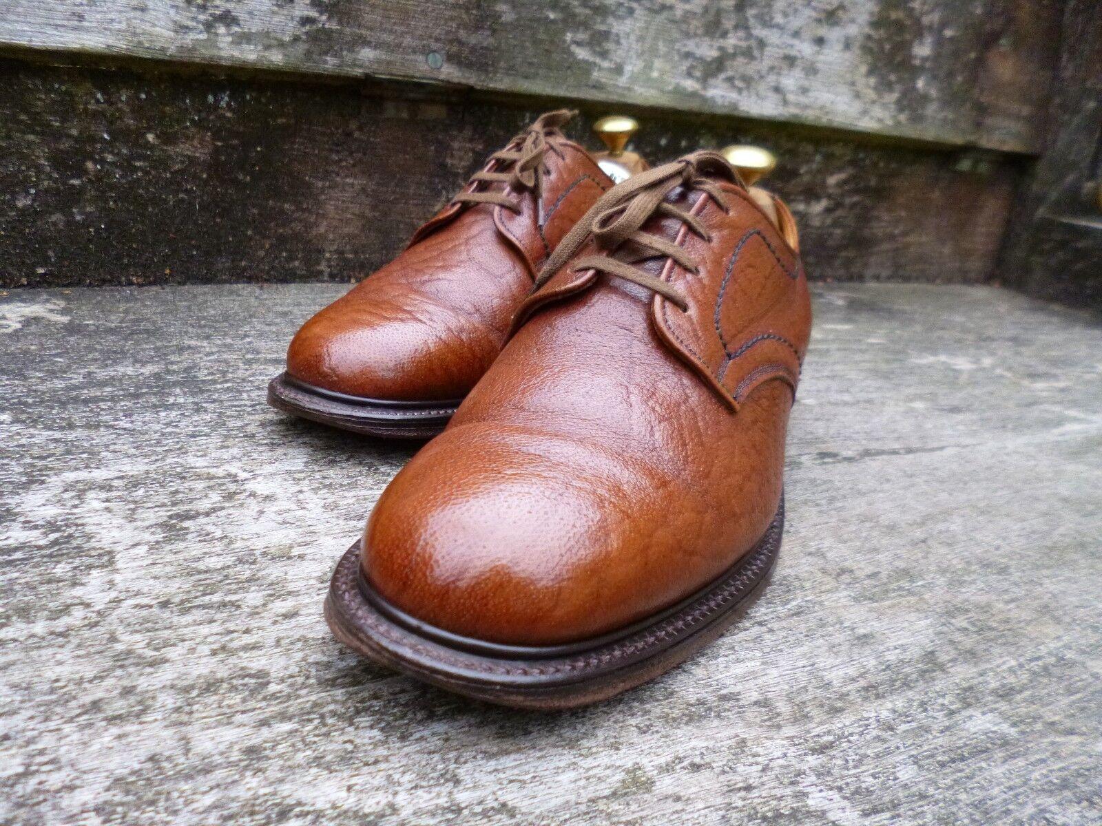 CHEANEY/church derby Vintage-Marrone/Tan-– Ottime Ottime Ottime condizioni bd77af