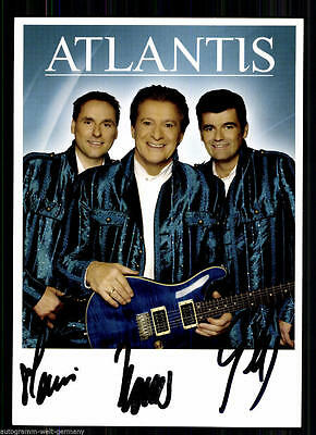 Zielsetzung Atlantis Autogrammkarte Original Signiert 12017 30148