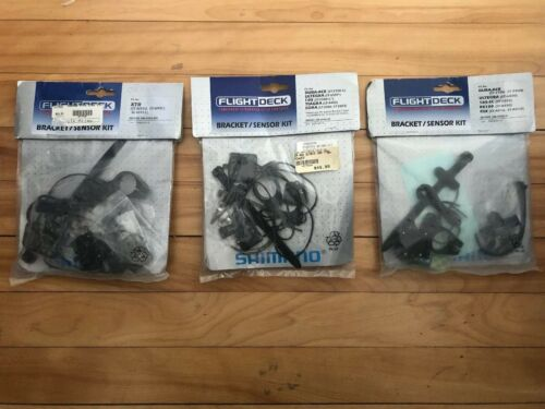 NEW-OLD-STOCK Shimano FLIGHTDECK Support//Capteur Kits SM-6500-MX /& SM-6500-R