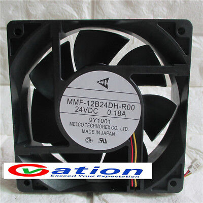 For Mitsubishi MMF-12C12DL-RA2 12VDC 0.24A 12CM Cooling Fan 3pin