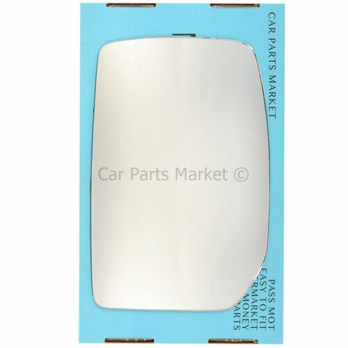 Left Passenger side Wing door mirror glass for Ford Transit Tourneo 2000-2014