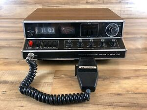 Vintage-Dynascan-Cobra-135-SSB-AM-2-Way-CB-Radio-Base-Station-For-Parts