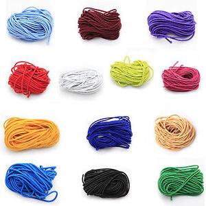Hot-sale-10m-colorful-Elastic-Cord-For-DIY-Desigh-Making-Hair-Rope-2-5mm
