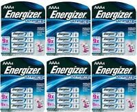 (6) Ea Eveready Energizer L92bp-4 4 Pack Aaa Lithium Battery