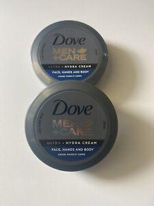 Dove Men+Care Ultra - HYDRA CREAM. FACE,HAND AND BODY ( 2 Pack )