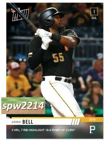 2019 Topps Now Josh Bell #464