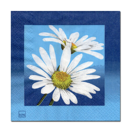 4 Motif serviettes serviettes des nappes tovaglioli Fleurs Pétales margerithen 316