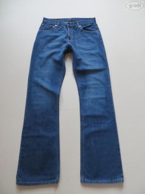 Levi's® 507 Bootcut Jeans Hose W 31 /L 34, wie NEU ! Faded Wash Denim, RARITÄT !