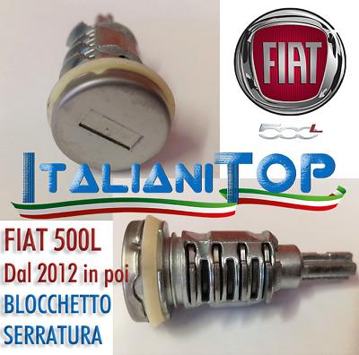 FIAT PANDA 2012-/> BLOCCHETTO CILINDRO SERRATURA MANIGLIA PORTA CON CHIAVE