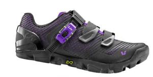 Giant Liv valora para Mujer Zapatos Mtb 36 Negro Púrpura 6 US  venta al por menor