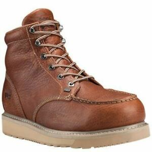 de0eadce4497 Timberland PRO Men s Barstow Wedge Alloy Toe Work Boots Rust ...