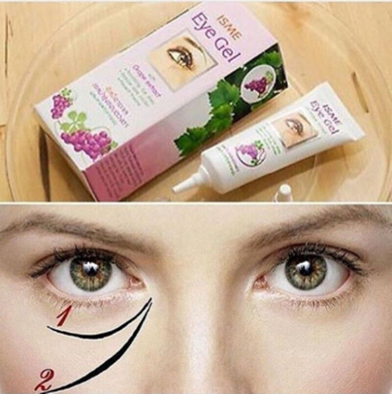 Caicui Red Pomegranate Eye Cream Reduce Puffy Eyes And Dark