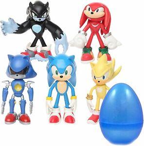 Coolinko 5 Set Jumbo Sonic Hedgehog Figures With Jumbo Egg Mini Action Toys Ebay