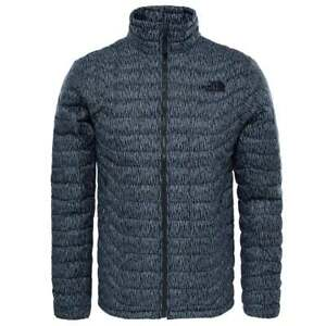 NWT The North Face Men s Thermoball Full Zip Quilted Jacket Asphalt ... cfa235f54