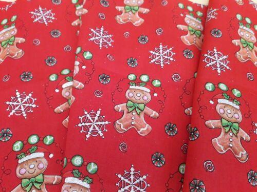Nuevo 34191 100/% algodón-jo Anne Telas Navidad Diseño de osos de peluche no