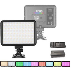 Linterna Lampara Iluminacion Luz Led Para Cámara De Vídeo Color Austable Ebay