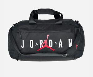 f940d710837e Air Jordan Jumping Man New Black Basketball Gym Sports Duffel Bag