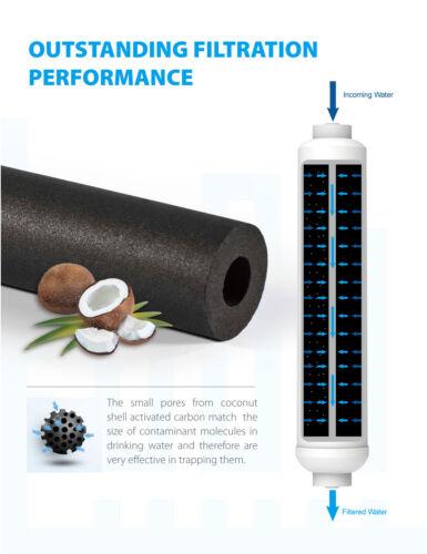 4 x eau Réfrigérateur Filtre de remplacement pour LG BL-9808 5231JA2012A BL-9303