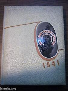"1941 ""WOLVERINE"" MICHIGAN STATE COLLEGE Yearbook"