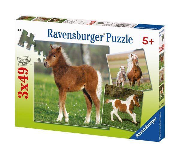 Ravensburger Puzzle Rompecabezas Kinderpuzzles Amistad Pony Caballo 3x49  Partes  livraison et retours gratuits