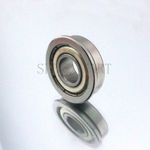 [FR4zz] MR4 1/4 x 5/8 x 0.196 Metal Shielded  Flanged  Ball Bearings