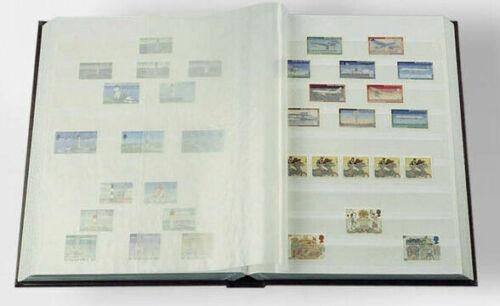 Lighthouse Brand Black Split Backed Stamp mounts 20 Strips 210mm x 31mm New by Lighthouse Publications